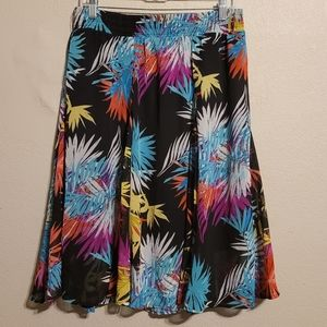 Lapis Colorful Hawaiian Skirt